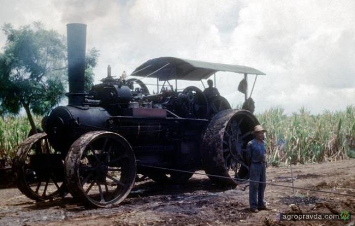 С чего начинались трактора. Фото