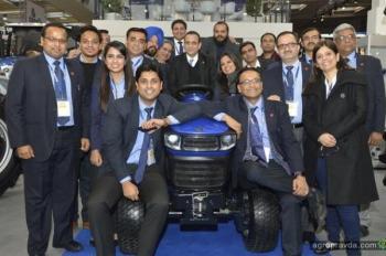 Индия готовит электротрактор для Европы