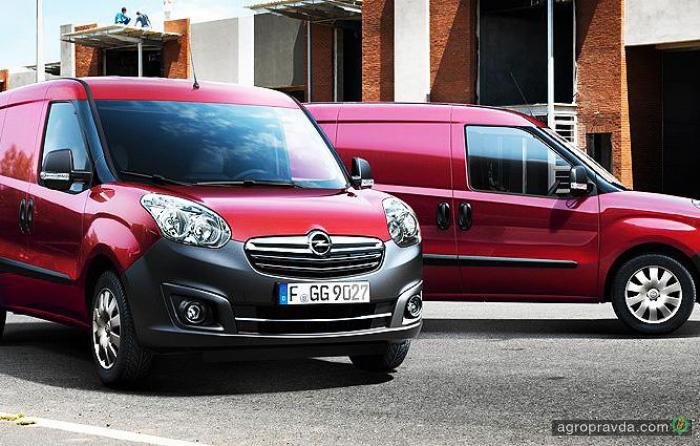 На фургон Opel Combo действует выгода до 79 000 грн.