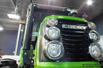 На рынок выходят тракторы Chery