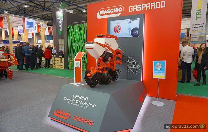 Maschio Gaspardo в Украине входит в новую эру высокоскоростного точного высева