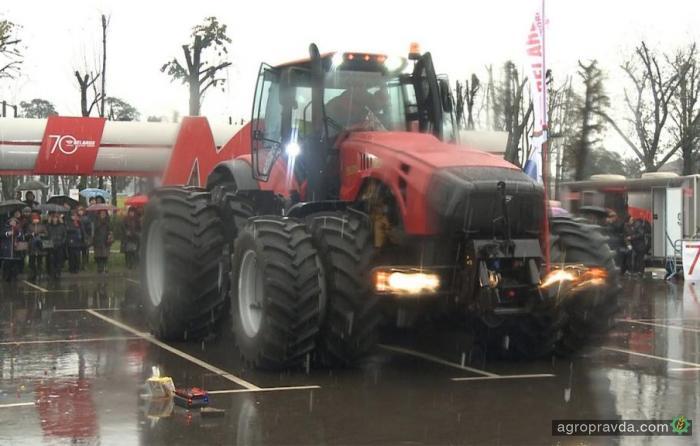 МТЗ представил свой самый мощный трактор