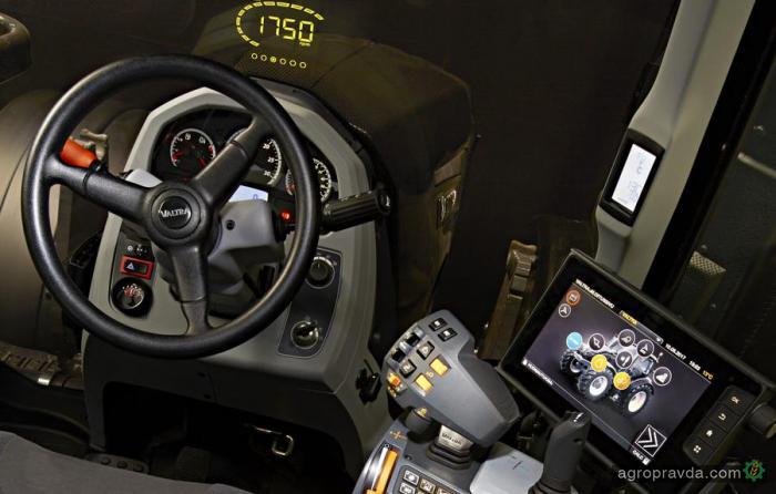 Тракторы Valtra обзаведутся проекционным дисплеем