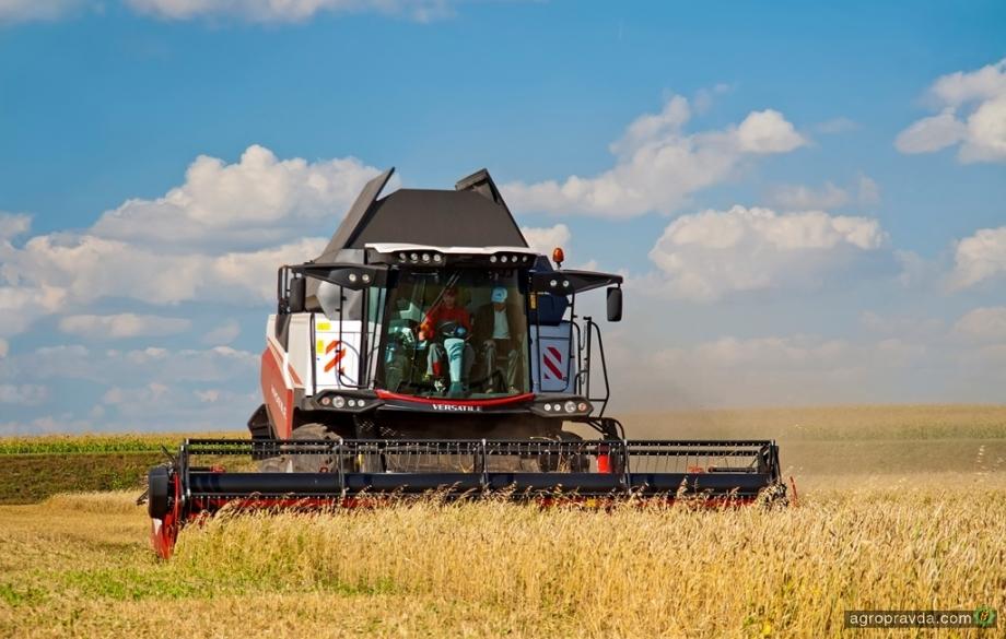 Украинские аграрии выбирают комбайны VERSATILE