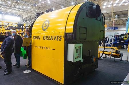 John Greaves представил новинки на выставке в Киеве