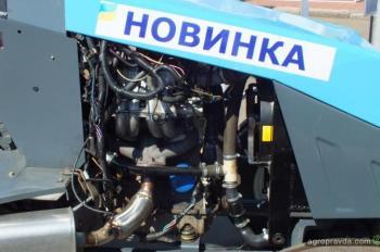 Представлен газовый трактор-кабриолет ХТЗ