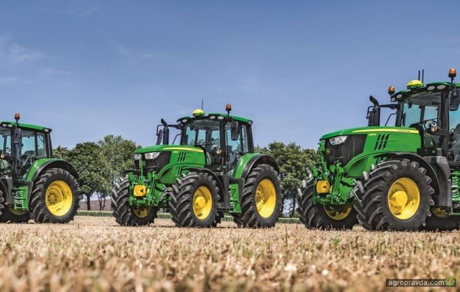John Deere представляет новую серию тракторов