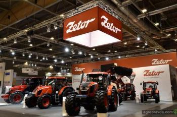 Zetor представил новый трактор Forterra CL