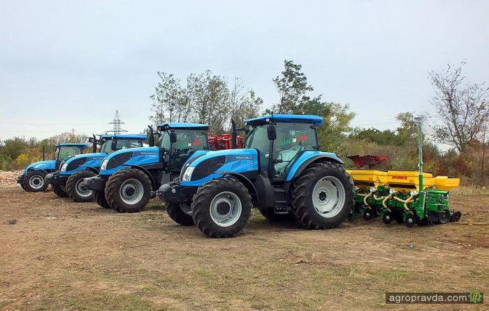 Тракторы Landini на «АгроЭкспо 2013»