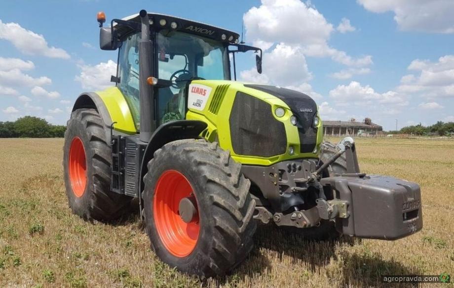 Отзывы реальных владельцев о технике: трактор Claas Axion 850
