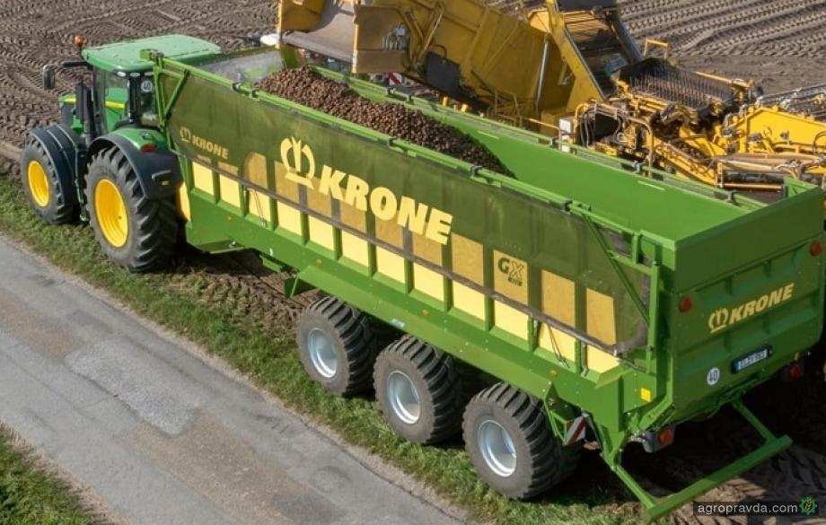Krone представил новый аграрный прицеп