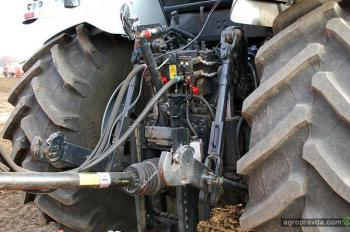 Испытываем трактор Lamborghini R8.270