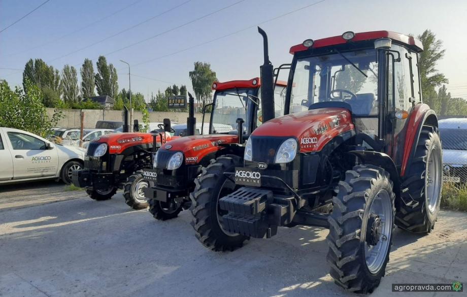 АГСОЛКО представляет в Украине тракторы YTO новой серии