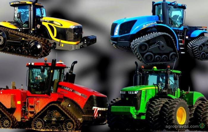 10 самых современных тракторов. Видео