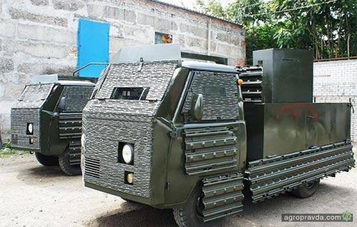 В Украине для нужд пограничников бронируют УАЗы