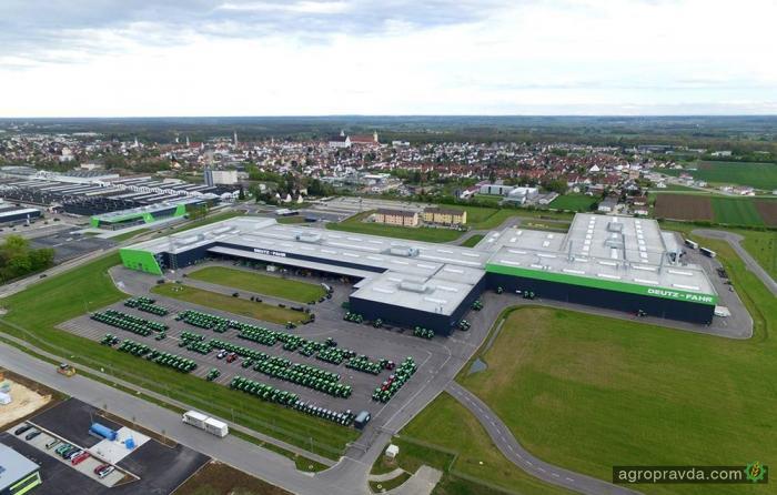 Самый технологичный завод Deutz-Fahr. Первые фото