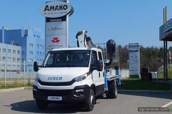 В Украине представлен новый гидроподъемник на шасси IVECO