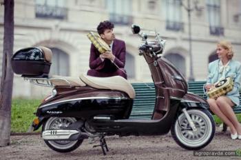 Представлена новая версия скутера Peugeot Django