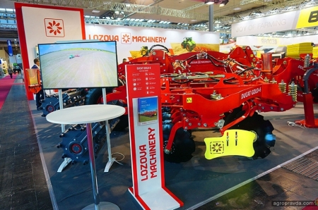 Lozova Machinery представила новинку для европейского рынка