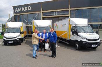 «Укрпошта» будет возить корреспонденцию на фургонах IVECO Daily