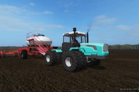 Украинские трактора появились в игровых симуляторах