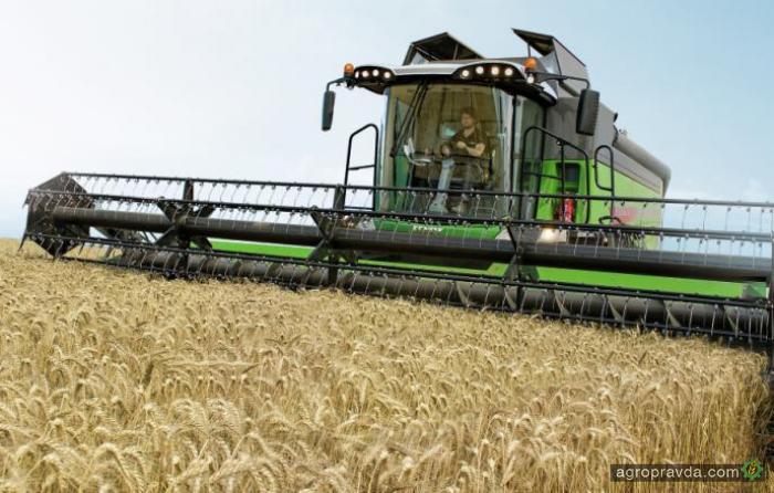 Комбайн Fendt 6335C с уникальной жаткой – для украинских аграриев
