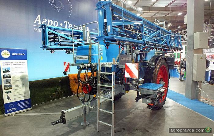 Технику Lemken представили на выставке «Зерновые технологии»