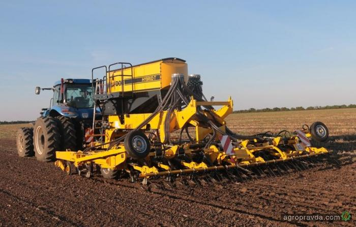 Как проходит осенняя посевная в Украине