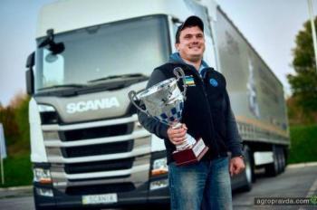 В Украине выбрали лучшего водителя грузовика Scania