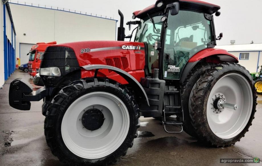 Аграриям передали еще партию тракторов Case IH Puma. Фото