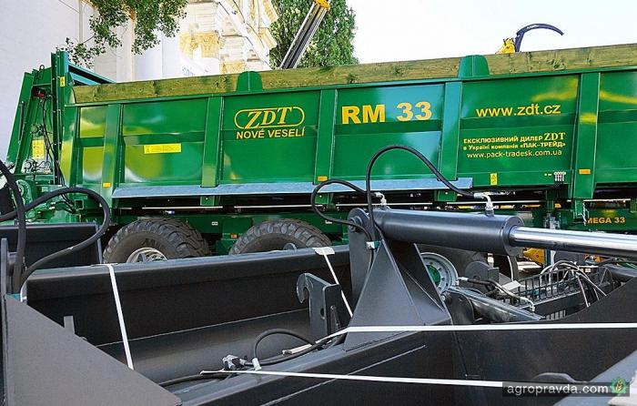 В Украине появился новый дилер сельхозприцепов ZDT