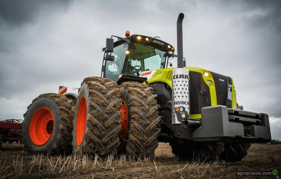 Трактор Claas Xerion установил мировой рекорд в сегменте полноприводных машин