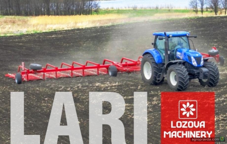 Зубовые бороны Lozova Machinery на украинских полях