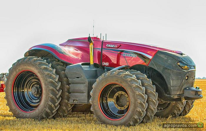 Беспилотные технологии Case IH могут появиться на обычных тракторах