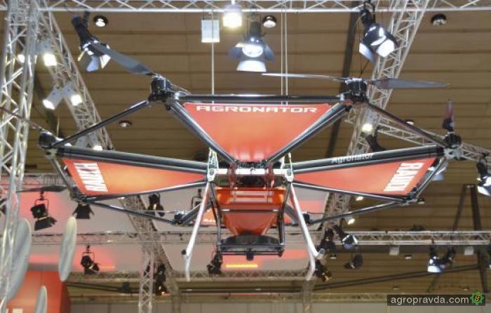Разработан первый в мире летающий разбрасыватель