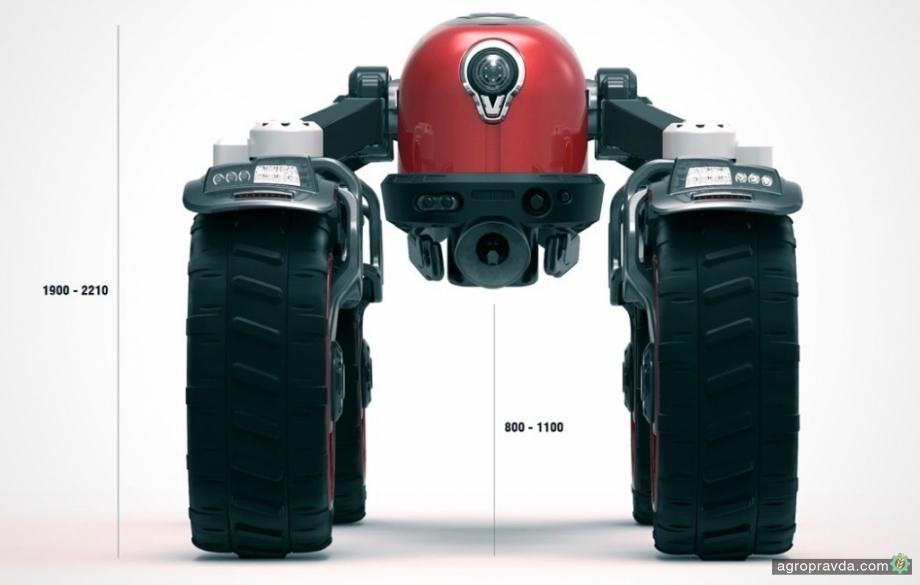 Представлен новый концепт трактора Valtra
