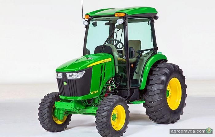 John Deere представил новую серию компактных тракторов