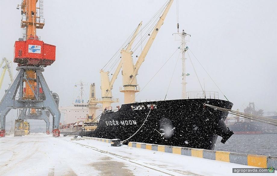 В порту «Ника-Тера» уменьшился грузооборот агропродукции