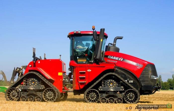 Самый мощный в мире трактор с вариатором. Видео