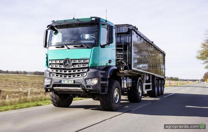 В Украине стартуют продажи аграрный Mercedes-Benz Arocs