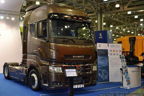 КАМАЗ в сентябре начинает производство новой модели магистрального тягача.