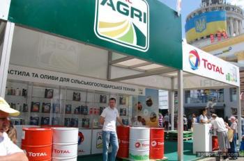 В Украине представили масла TOTAL для аграриев