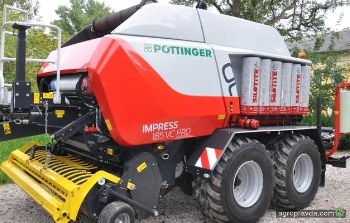 Pottinger инвестировал в пресс-подборщик 10 млн. евро