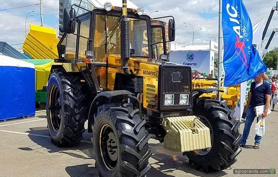 В Киеве представят газовый трактор МТЗ