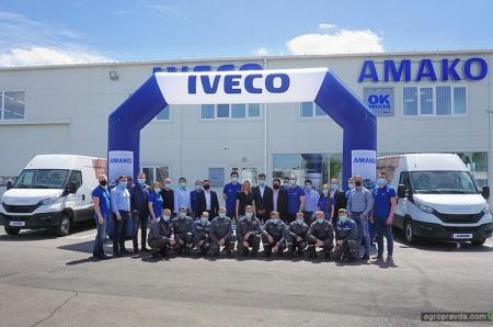 Под Киевом открыли крупнейший в Украине дилерский центр IVECO