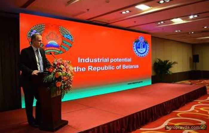 «Гомсельмаш» увеличит производство сельхозтехники в Китае