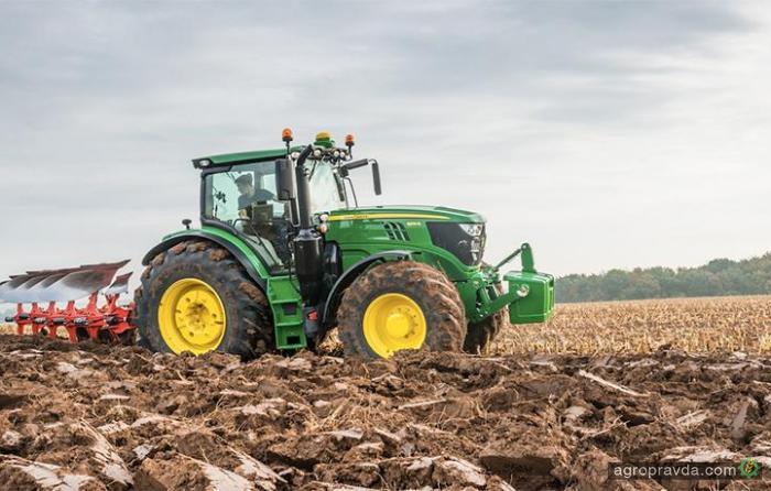 John Deere выведет новые тракторы серий 6R и 6M