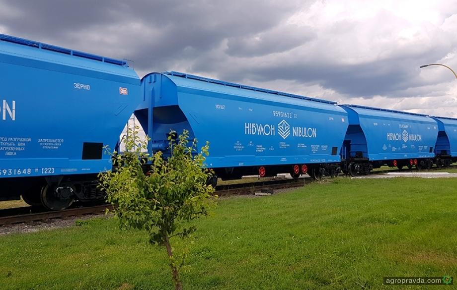 «Нибулон» отправил зерно собственными вагонами