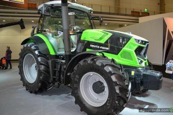 Deutz-Fahr представил новые трактора 6-й серии