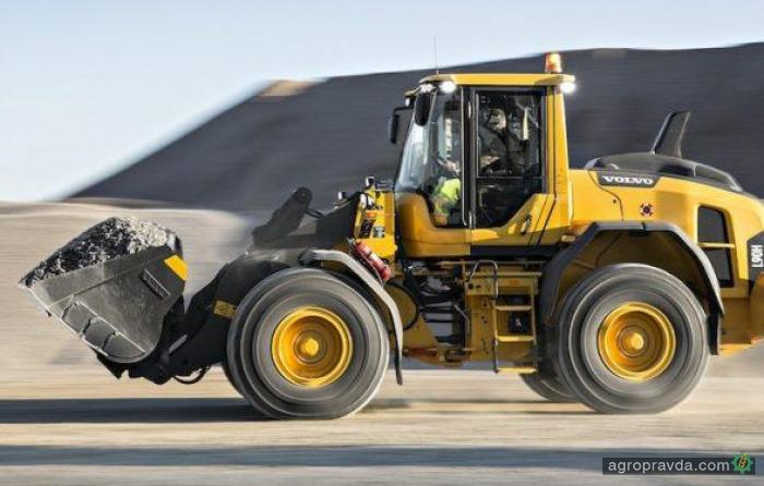 Volvo обновил погрузчики L90H